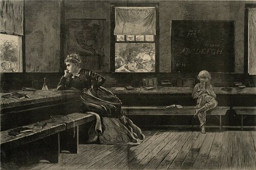 Winslow Homer The Noon Recess. Boston Public Library