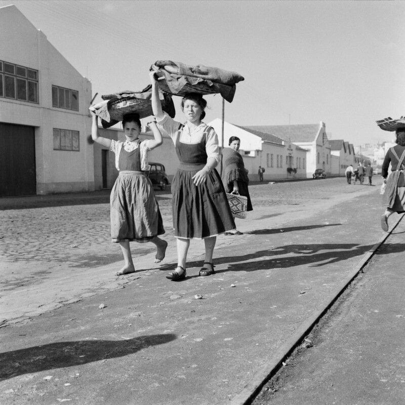 1950 Рыбалка в Португалии