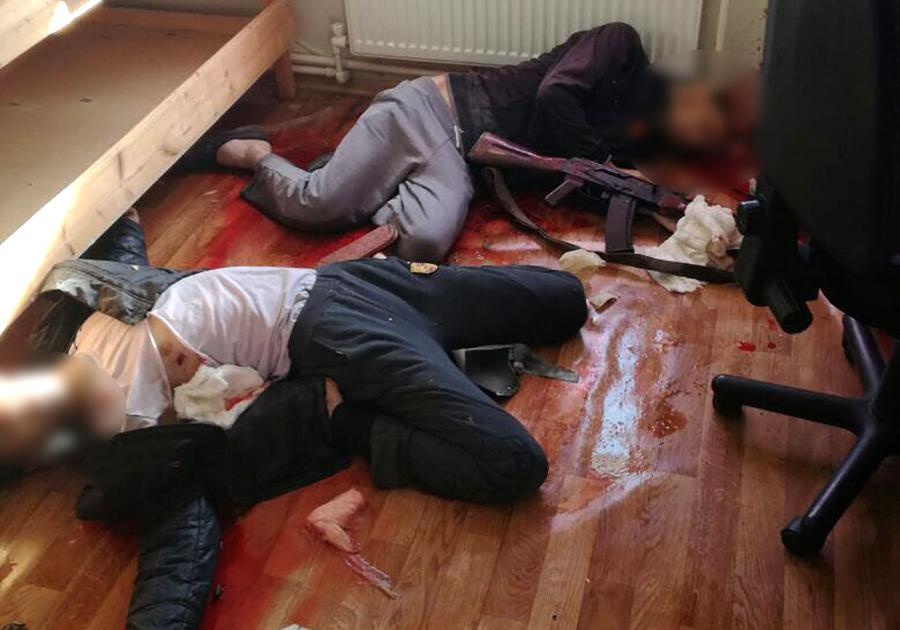 ВоВладимирской области при задержании убиты двое подозреваемых вподготовке терактов
