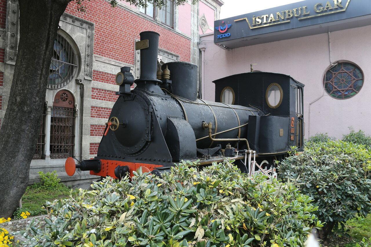 Стамбул. Железнодорожный вокзал Сиркеджи (Marmaray Sirkeci İstasyonu)