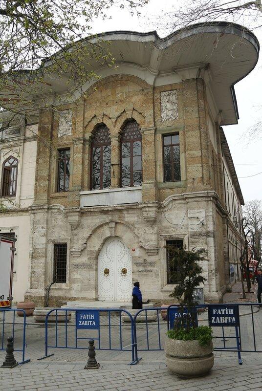 Istanbul.  Marmara University Rector's Office (Marmara Üniversitesi)