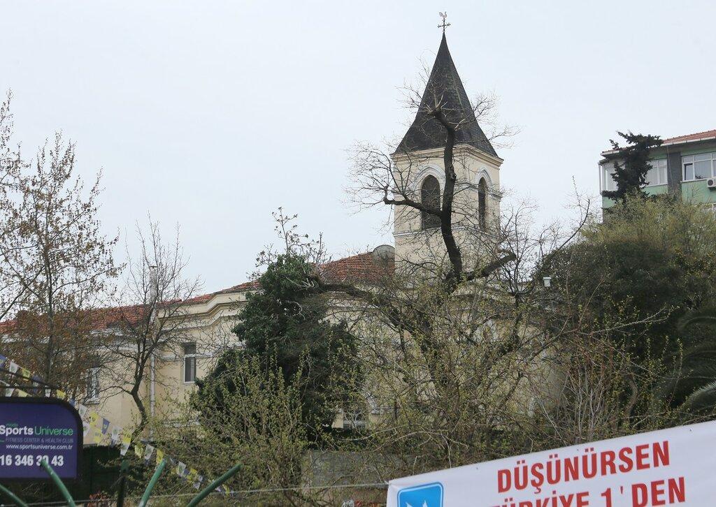 Стамбул. Армянская церковь Левон Сюрп (Surp Levon Ermeni Kilisesi)