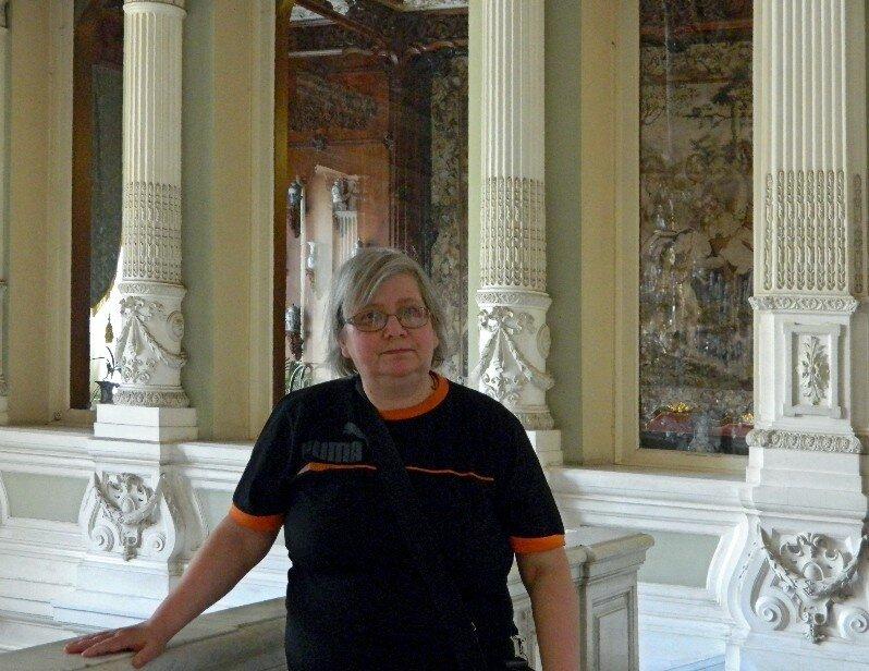 Оксана Аболина в Юсуповском дворце