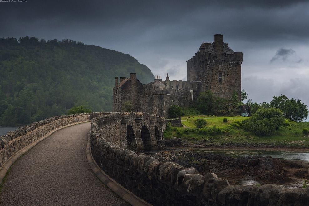 Eilean Donan, наверное, самый знаменитый и популярный на севере Шотландии. Некоторые замки прин