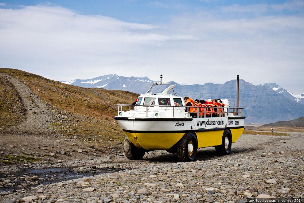 Есть и другой вариант поплавать по Лагуне — более быстрый и более длинный по проходимому рассто