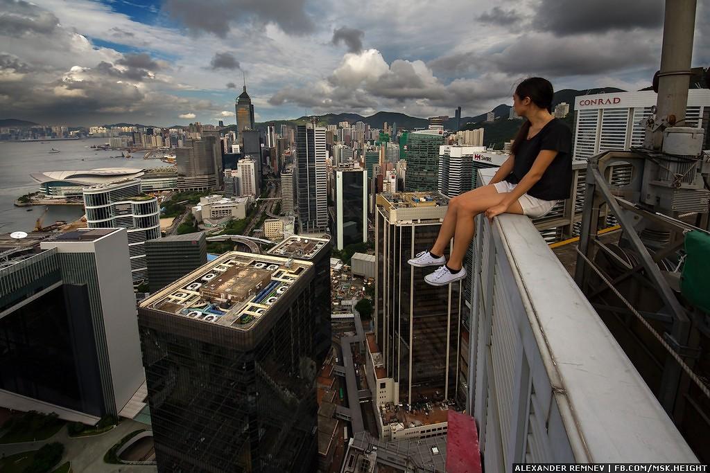7. Далеко не все крыши в Гонконге открыты, но все же мы нашли их! Безусловно, нам попадались наглухо