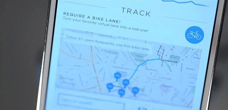 8. Samsung Smart Bike оборудован модулем GPS, передающим информацию на смартфон владельца, а для раб