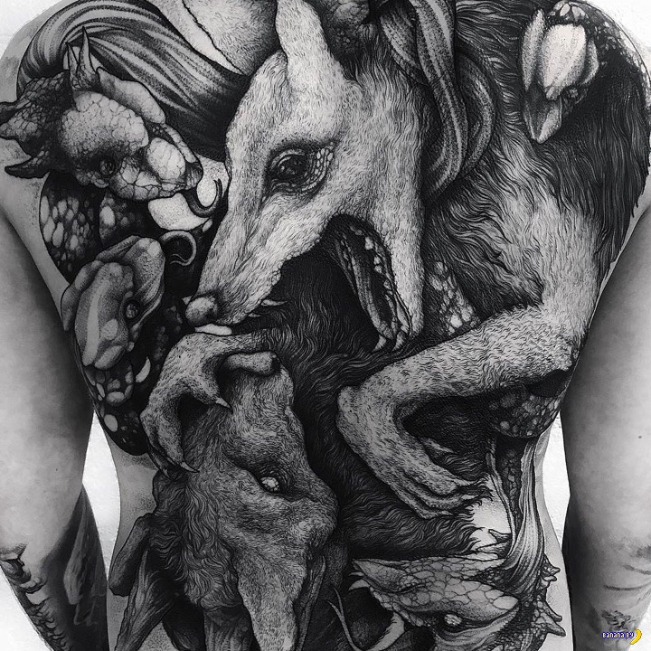 Татуировки на зависть (15 фото)