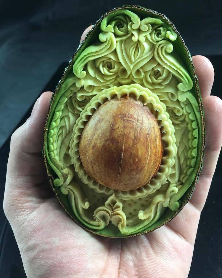 Еда, как произведение искусства: шедевральный карвинг от Daniele Barresi (13 фото)