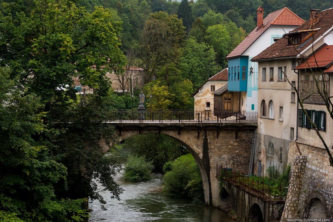 Skofja Loka (Шкофья-Лока) — самый красивый сохранившийся средневековый город в Словении (35 фото)