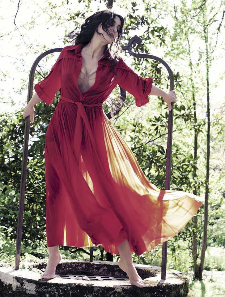 Моника Беллуччи в итальянском Vanity Fair (5 фото)