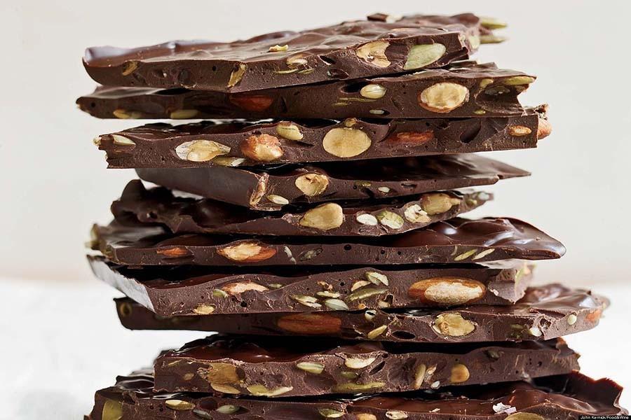 4. Около 40% всего миндаля и 20% всего арахиса, производимых в мире, поставляются для шоколадных изд