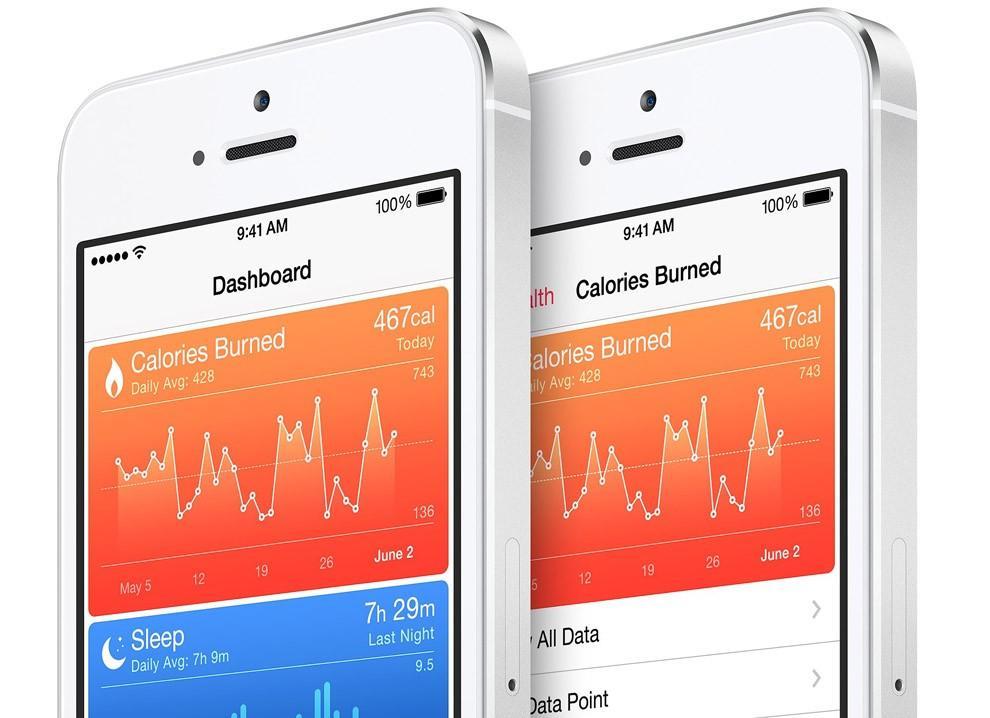 5. Приложение «Здоровье» позволяет пользователю контролировать различные жизненные показатели, включ