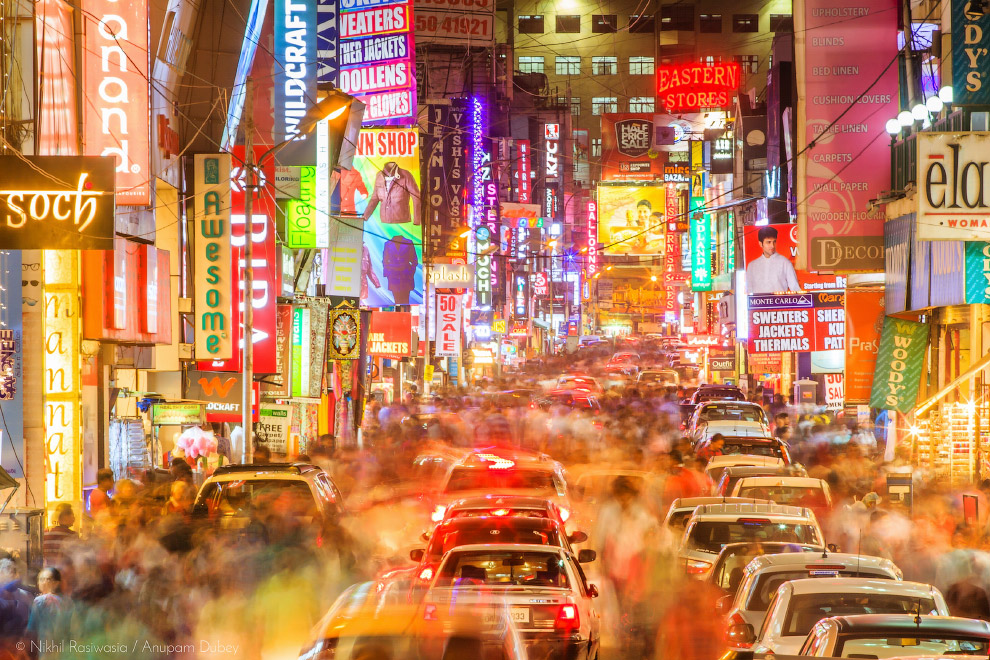 10. Вид с самого высокого жилого здания в Азии. Пусан, Южная Корея. (Фото Albert Dros | NatGeo Citie