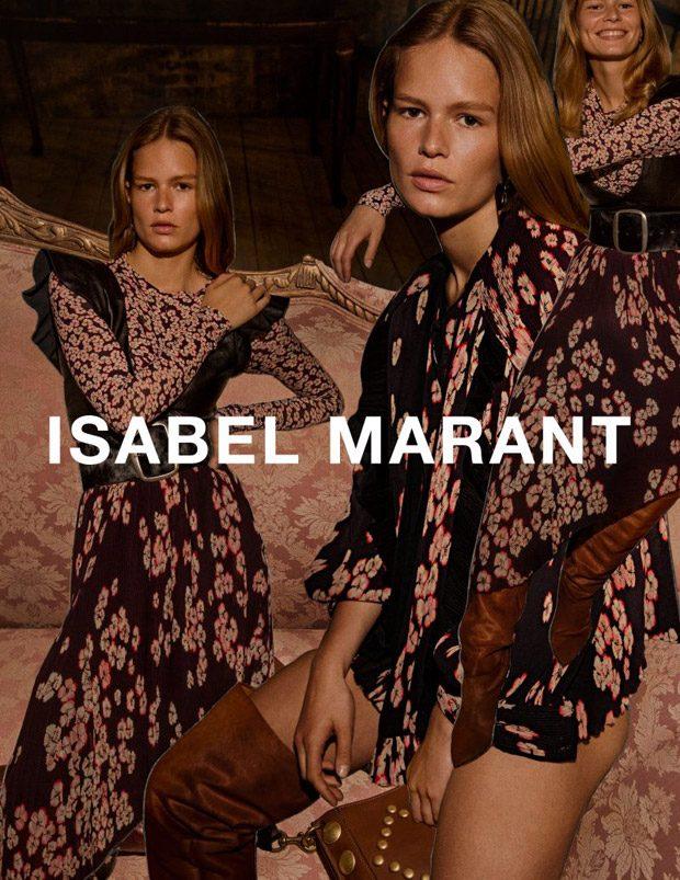 Осенне-зимняя рекламная кампания Isabel Marant