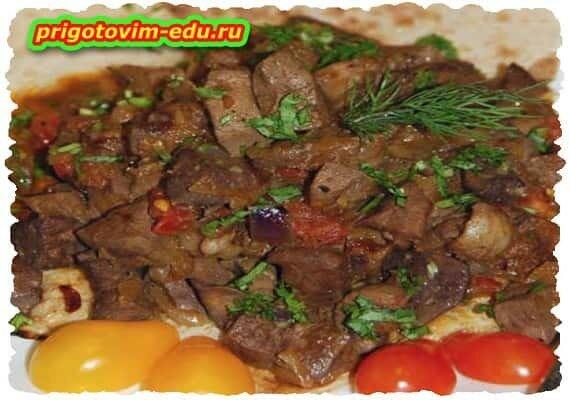 Тжвжик рецепт Армянской кухни