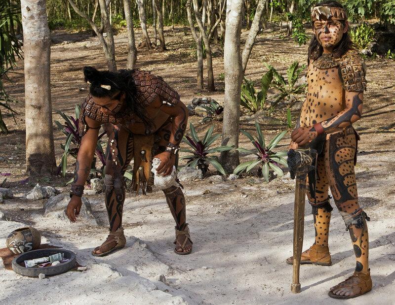 Мы индейцы боевые- собираем чаевые! :)