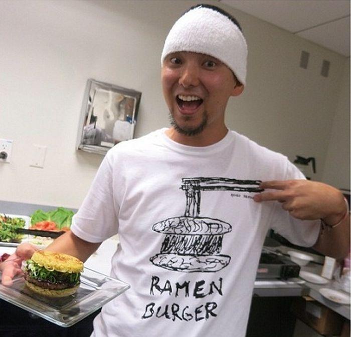 Бургер из доширака