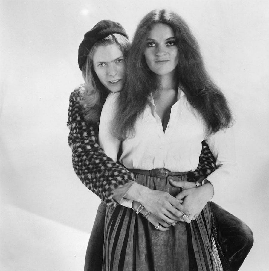 May 17, 1971, with Dana Gillespie