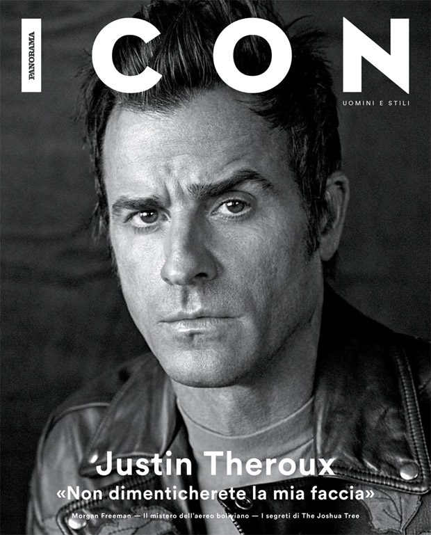 The Leftovers Star Justin Theroux takes the cover story of Icon Magazine 's May 2017 edition c