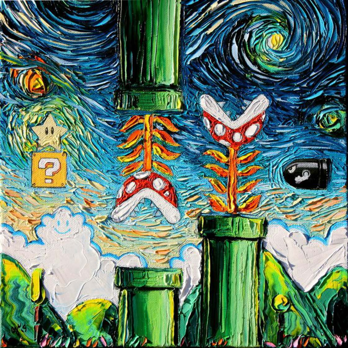 Starry Night - When Van Gogh meets Pop Culture