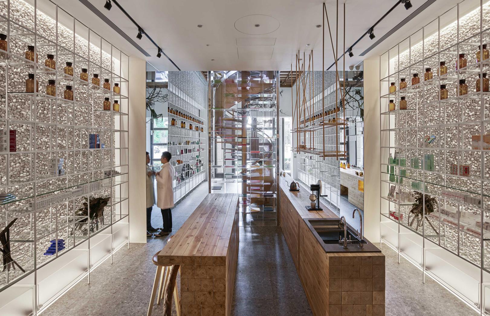 Beautiful Pharmacy in Taiwan