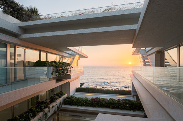 Discover Vila Kali in Mounsef, Lebanon, a seaside mansion designed by  BLANKPAGE Architects tog