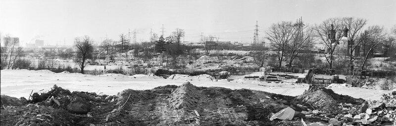 1987-92 Село Очаково после сноса. вид со стороны ДСК. Василий Смирнов.jpg