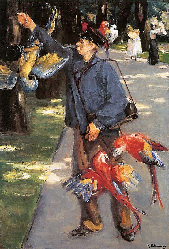 1 Parrot caretaker in Artis, 1902 Max Liebermann.jpg