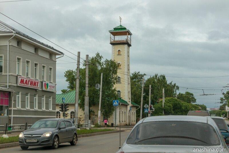 Здание пожарной каланчи, 1853 год, Вологда