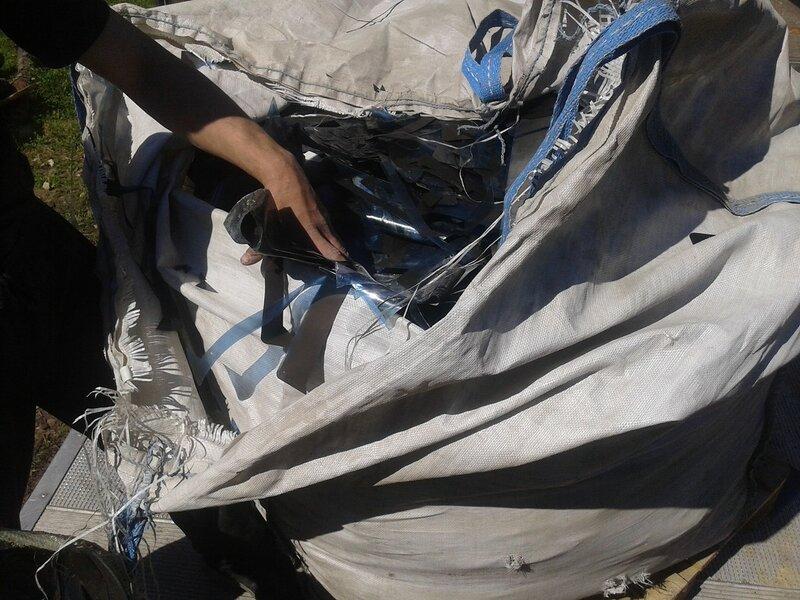 Переработка отходов пластика.
