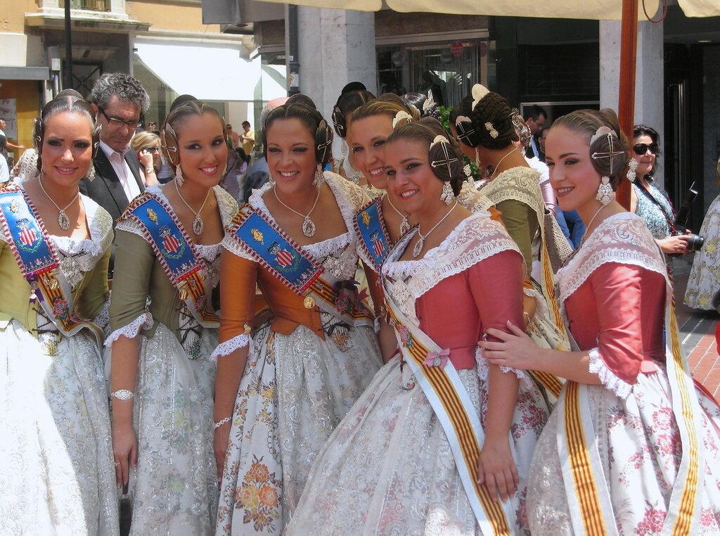 Праздник в Бургосе. Испания