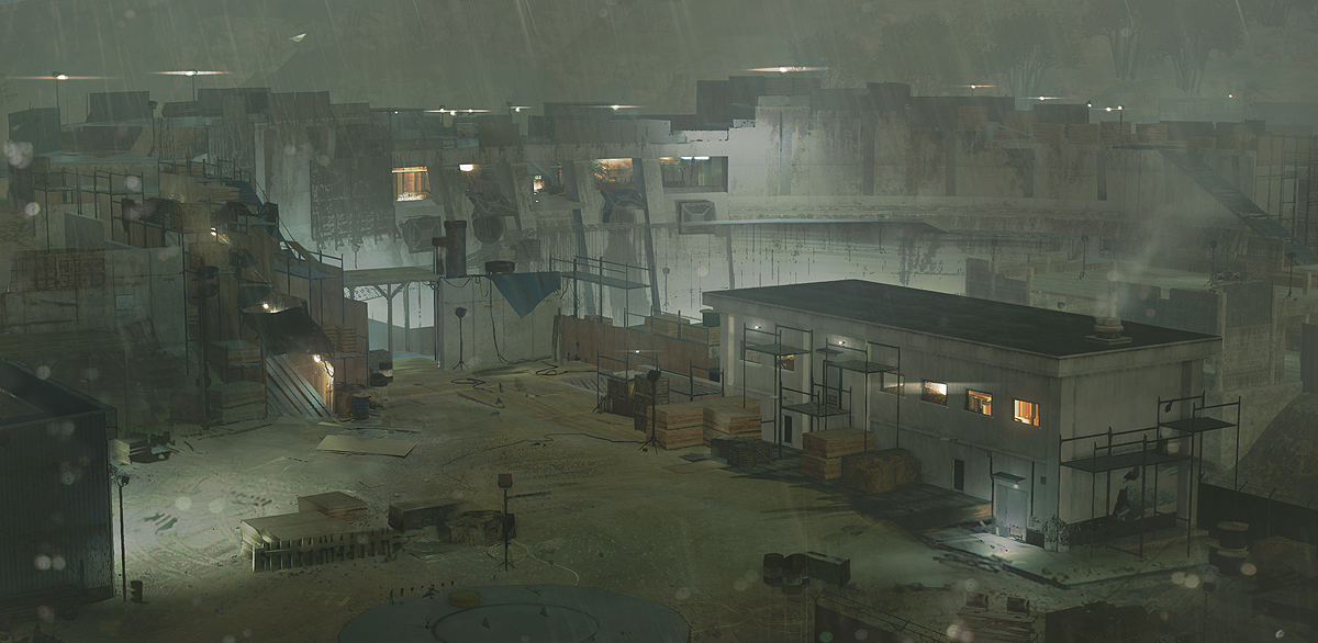 Metal Gear Online Concept Art by A.J. Trahan