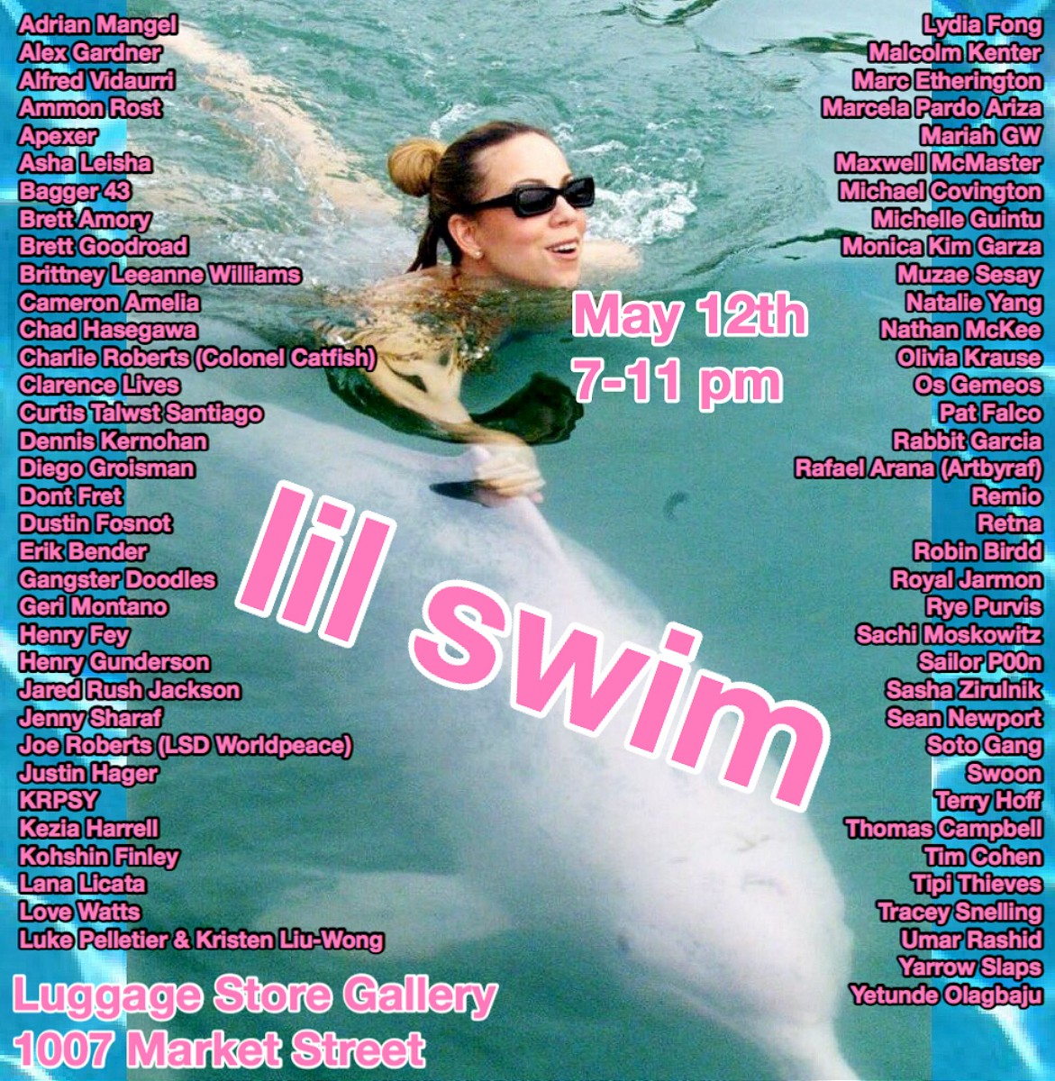 """Previews: """"Lil SWIM"""" group show @ The Luggage Store"""