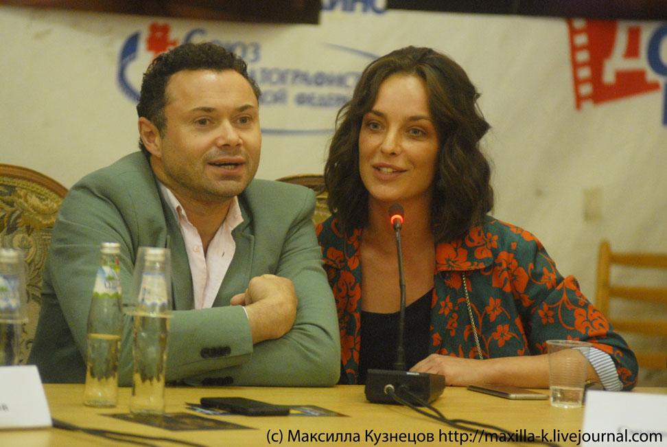 Андрей Носков и Анна Попова