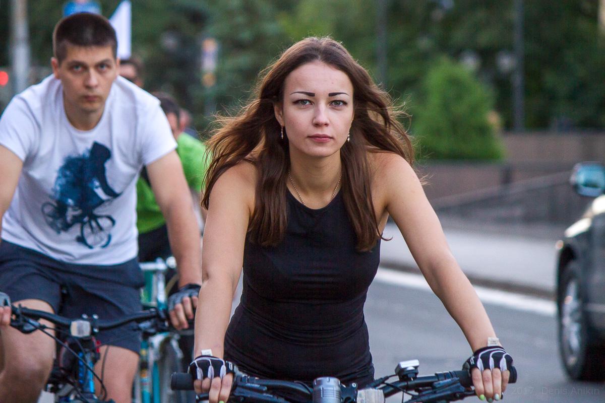 велопарад Леди на велосипеде фото 18