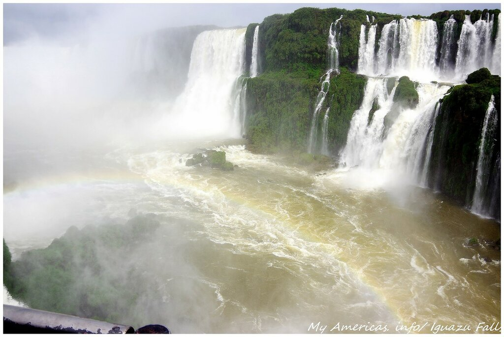 Игуасу. Бразильская сторона.