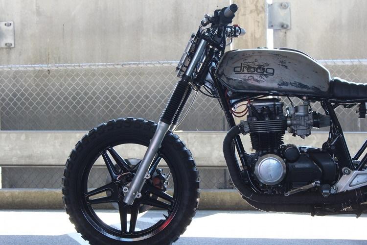 Moto Droog: скрэмблер Honda CB650 Nighthawk