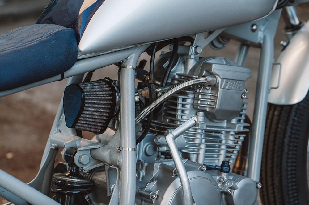 Purpose Built Moto: кафе рейсер Yamaha Scorpio 225