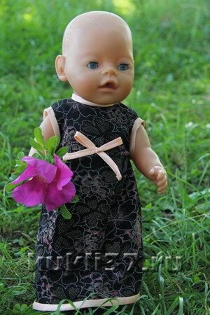 трикотажное платье Baby Born
