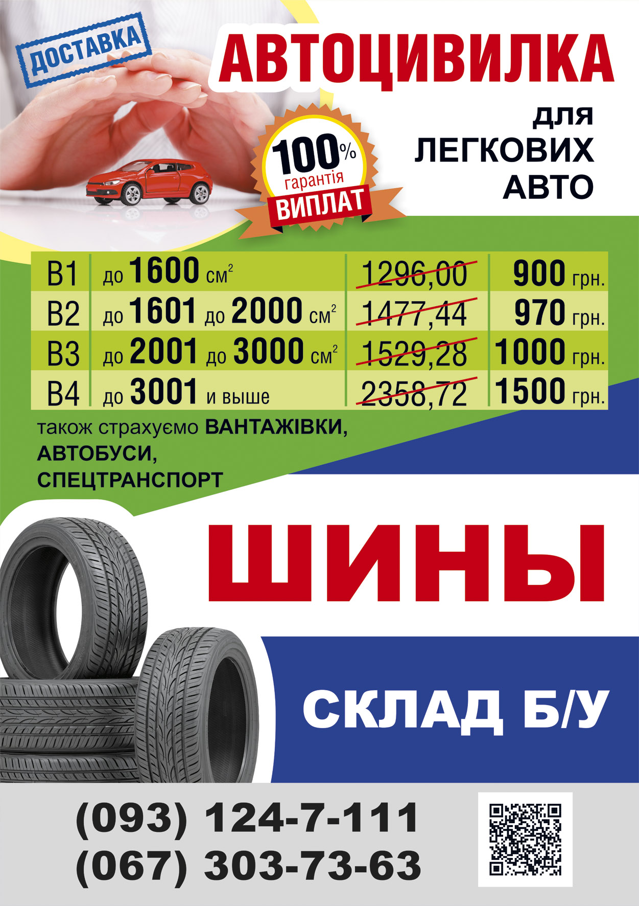 Дизайн плаката СТО