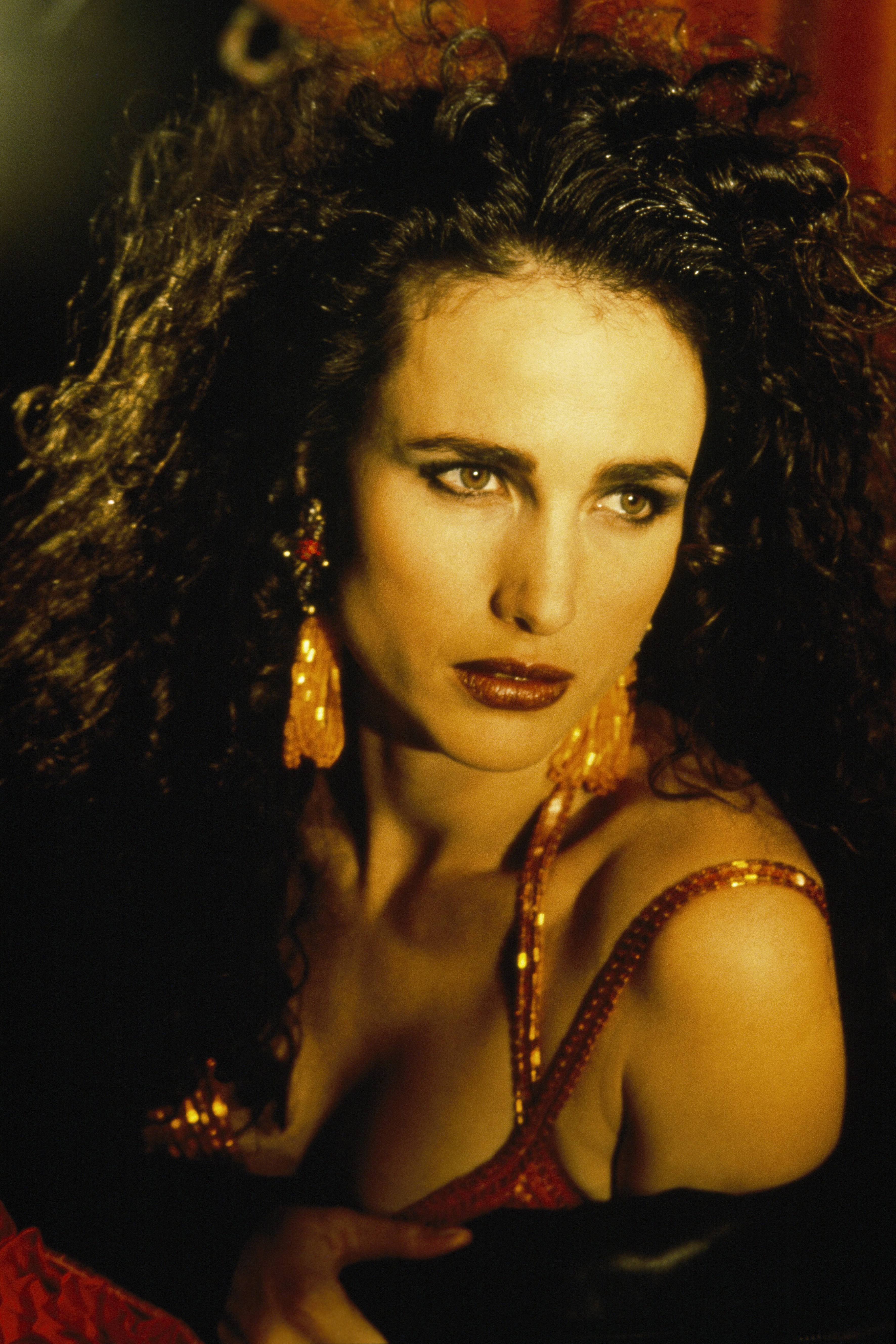 American Actress and Model Andie MacDowell