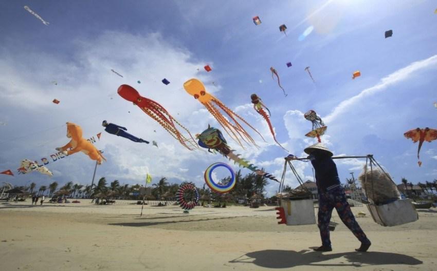 Международный фестиваль кайтсерфинга во Вьетнаме