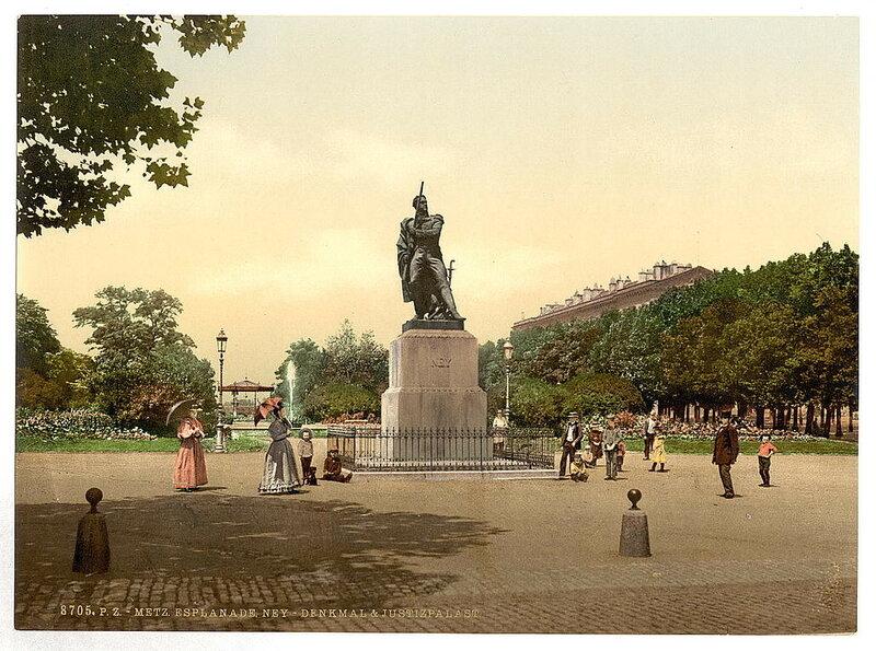 Виды Германии на цветных фотографиях 19 века