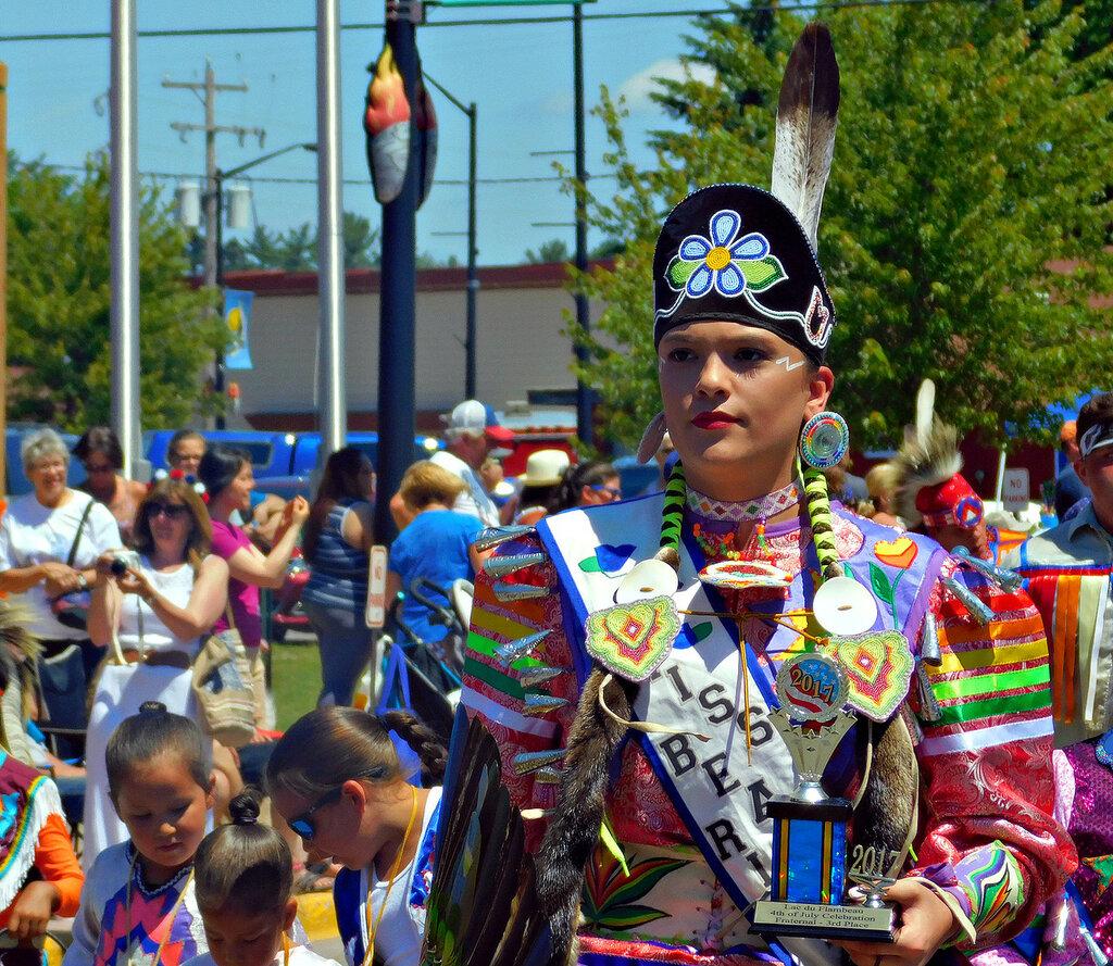 Парад в Лак ду Фламбе-2017.
