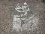 Рисунок около дома по пр. Коммунистический, 151 01