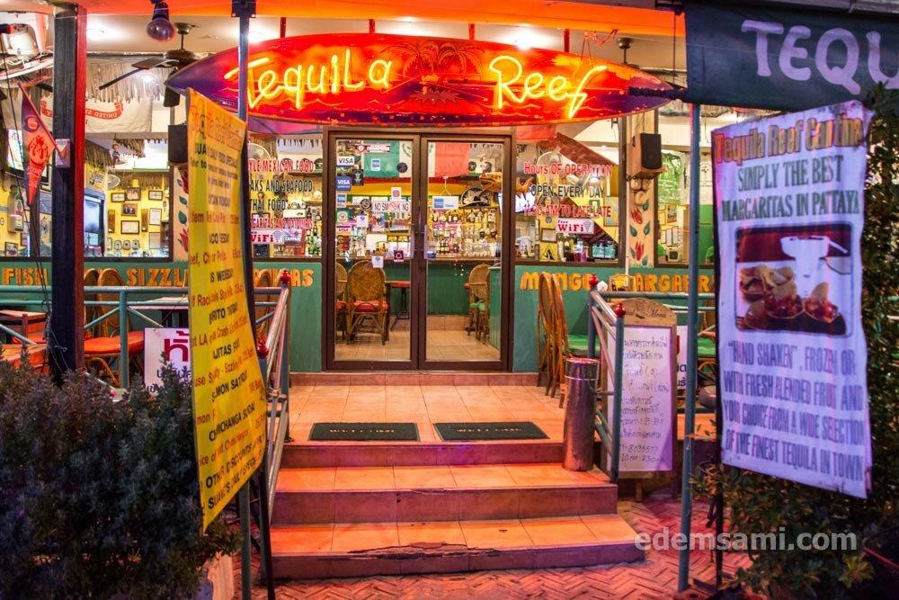 Tequila Reef Cantina мексиканский ресторан в Паттайе