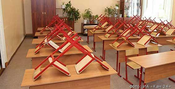 В Петропавловске из-за непогоды отменили занятия в школах