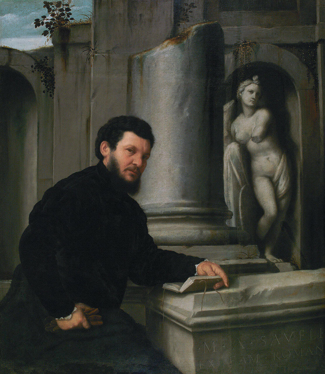 Marco Antonio Savelli, by Giovanni Battista Moroni