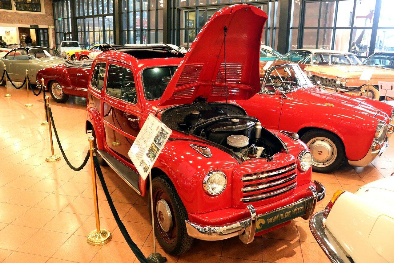 Стамбул. Музей Рахими Коча. Fiat 500C Belvedere 1954
